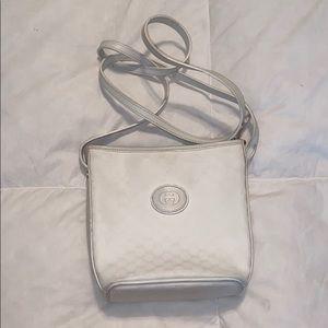 Authentic white Gucci crossbody